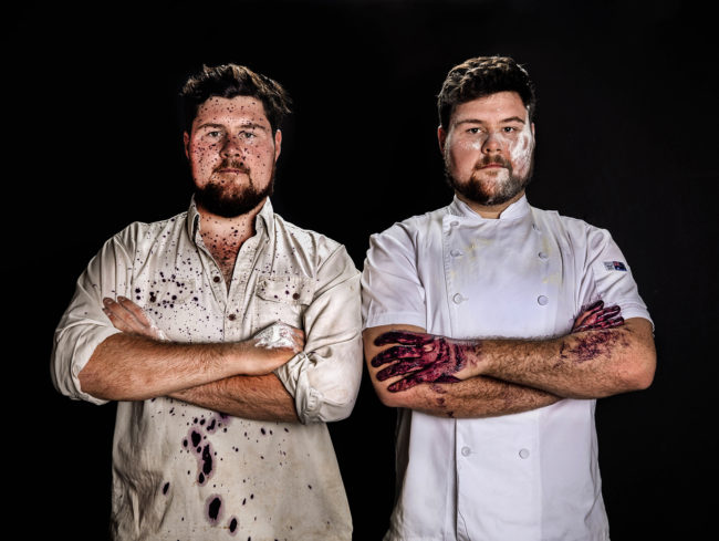 Chefs winemakers Food Wine Hunter Valley Allandale wines Margan Commercial photography Portraits